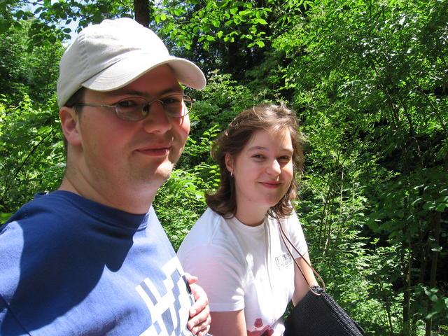 In der Fränkischen Schweiz mit Kati