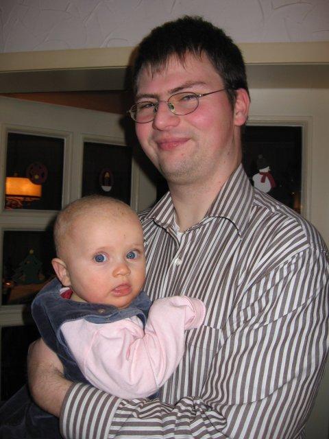 Meine kleine Nichte Ellen am 27.12.2007