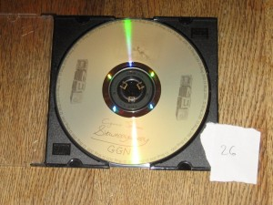SSB's personalized copy of D-BUG CD200