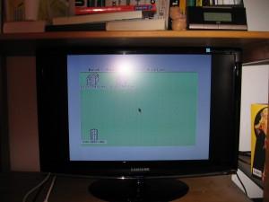 Samsung SyncMaster 2333HD am Atari STE