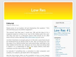 Low Res - Ausgabe 1