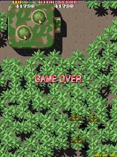 SSBs score of 41790 Flying Shark (Arcade version)