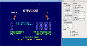 Arnold Emulator (Linux, GTK+SDL)