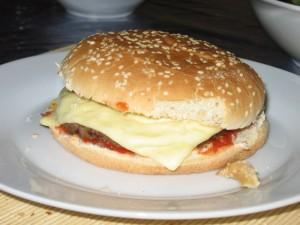 Cheeseburger selbstgemacht