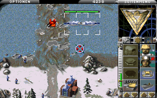 Command & Conquer: Alarmstufe Rot in-game (MSDOS)