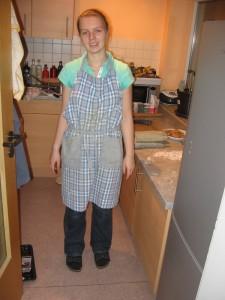 Die fleissige Bäckerin