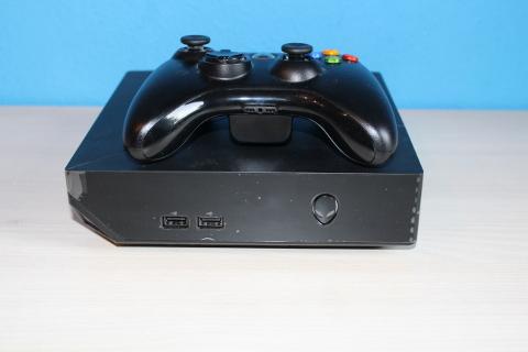 SSBs Alienware Alpha mit Xbox 360 Controller