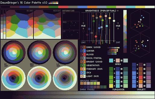 DawnBringer's 16 Col Palette v1.0